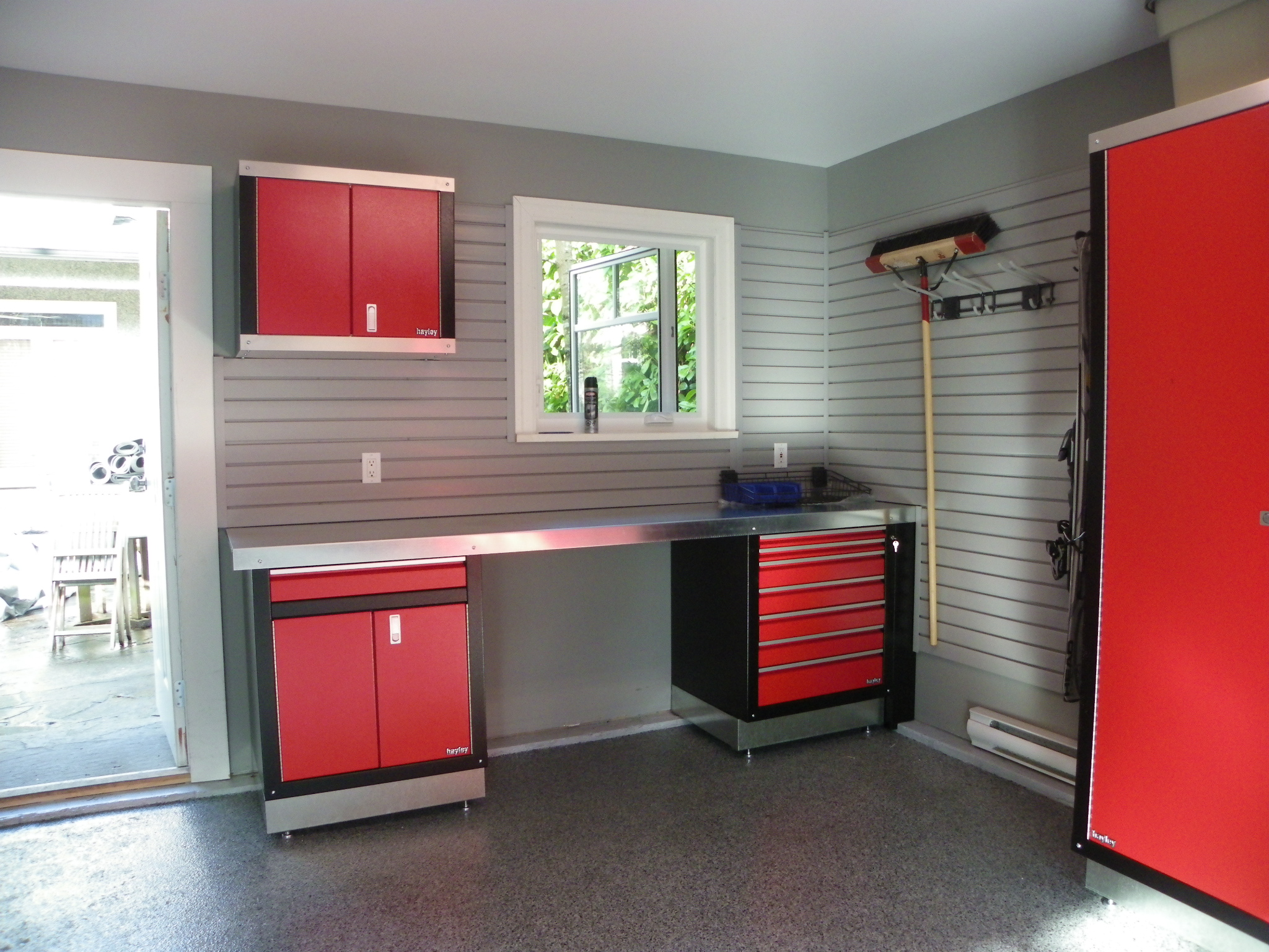 West coast dream garage garage cabinets   vancouver garage ...